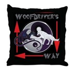 WooFDriver's Way Throw Pillow