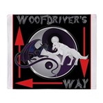 WooFDriver's Way Throw Blanket