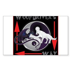WooFDriver's Way Decal