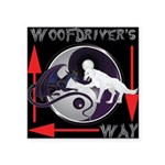 WooFDriver's Way Sticker