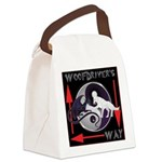 WooFDriver's Way Canvas Lunch Bag