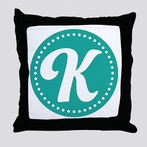 Letter L Throw Pillow