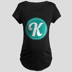 Letter L Maternity Dark T-Shirt