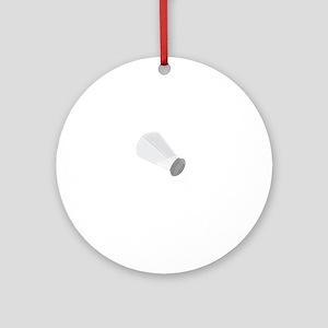 Salt Shaker Ornament (Round)