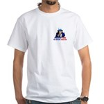 Speak English White T-Shirt