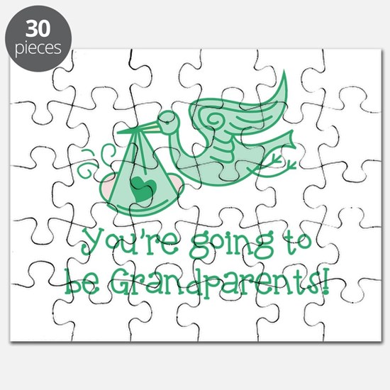 Going to be Grandparents Puzzle