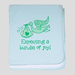 Expecting a Bundle of Joy baby blanket