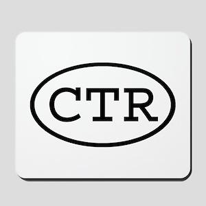 CTR Oval Mousepad