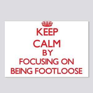 Being Footloose Postcards (Package of 8)