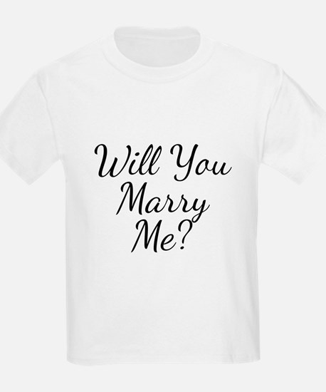 Will You Marry Me? T-Shirt