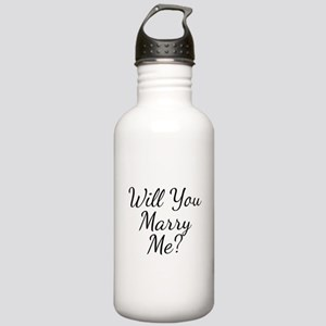 Will You Marry Me? Stainless Water Bottle 1.0L