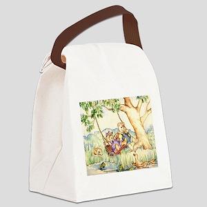 Bears Canvas Lunch Bag