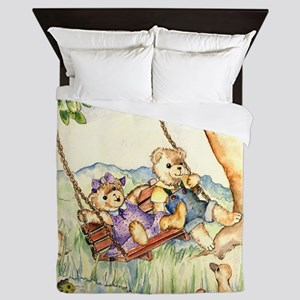 Bears Queen Duvet