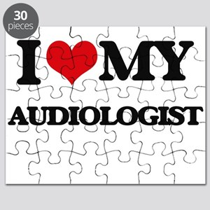 I love my Audiologist Puzzle