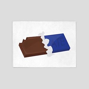 Chocolate Bar 5'x7'Area Rug