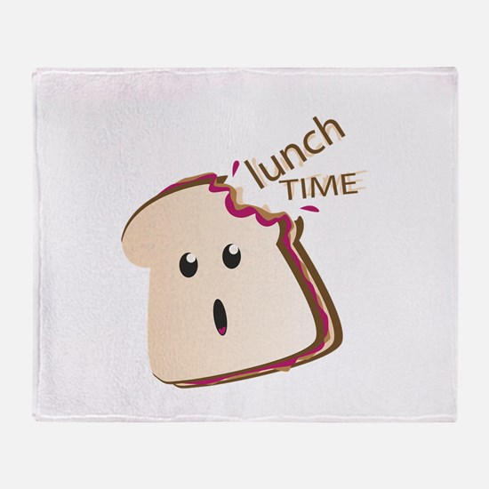Lunch Time Throw Blanket
