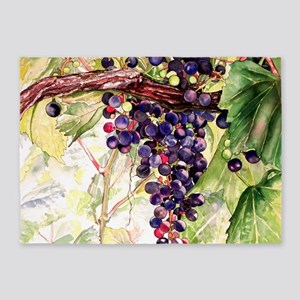Grapes 5'x7'Area Rug