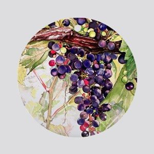 Grapes Ornament (Round)