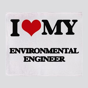 I love my Environmental Engineer Throw Blanket