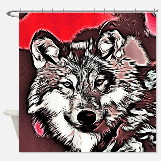 Wolf 2014-0976 Shower Curtain