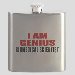 I Am Genius Biomedical scientist Flask
