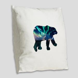AURORA Burlap Throw Pillow