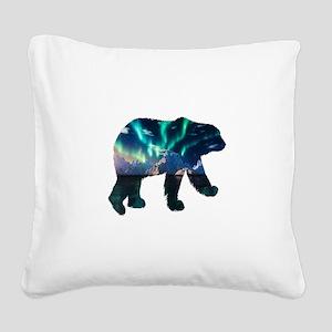 AURORA Square Canvas Pillow