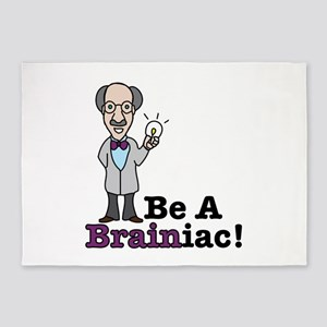 Be A Brainiac 5'x7'Area Rug