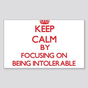 Being Intolerable Sticker