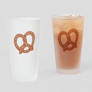 Pretzel Drinking Glass