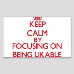 Being Likable Sticker