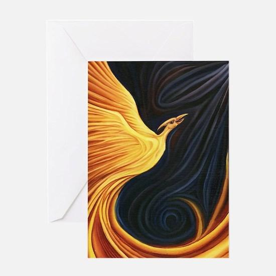 Phoenix Rising Greeting Card