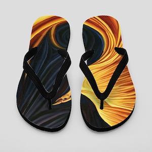 Phoenix Rising Flip Flops