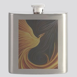 Phoenix Rising Flask