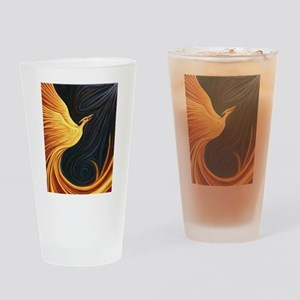 Phoenix Rising Drinking Glass