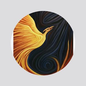 "Phoenix Rising 3.5"" Button"