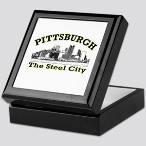 Pittsburgh . . . The Steel Ci Keepsake Box