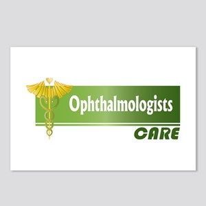 Ophthalmologists Care Postcards (Package of 8)