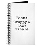 Team Crappy Lazy Finale Journal