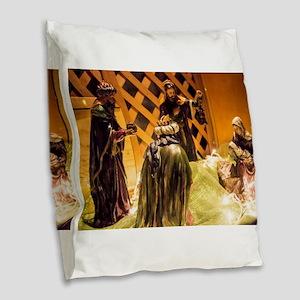 Gifts Burlap Throw Pillow
