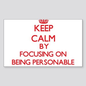 Being Personable Sticker