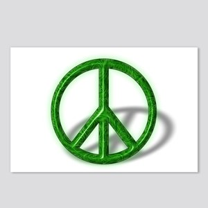 Peace Sign Swirl Postcards (Package of 8)