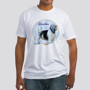 Lowchen Portrait Fitted T-Shirt