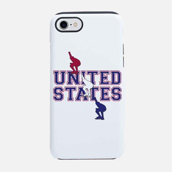 USA Speedskating iPhone 7 Tough Case