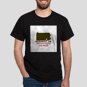 Hershey, Pennsylvania . . . C Dark T-Shirt