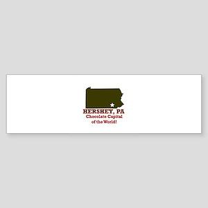 Hershey, Pennsylvania . . . C Bumper Sticker
