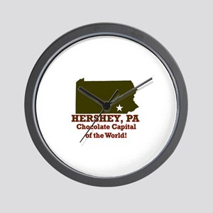 Hershey, Pennsylvania . . . C Wall Clock
