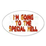 Special Hell, Oval Sticker