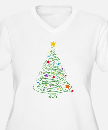 Swirly Christmas T-Shirt
