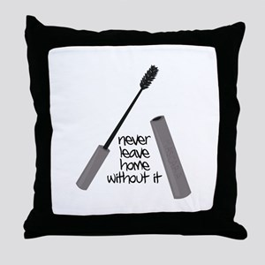 Never Leave Home Throw Pillow